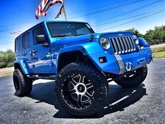 2016 Jeep Wrangler Unlimited CUSTOM LIFTED SAHARA LEATHER HARDTOP 4X4 in , Florida