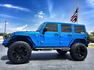 blue customized jeep wranglers best xd bomb wheels on a. Black Bedroom Furniture Sets. Home Design Ideas