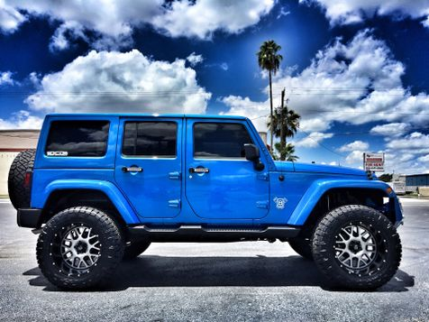 2016 Jeep Wrangler Unlimited CUSTOM SAHARA  LIFTED LEATHER HARDTOP in , Florida