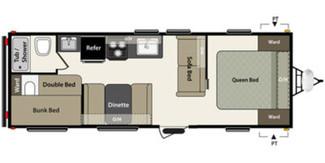 2017 For Rent - 26 foot Springdale Summerland Series Model M-2600 TB Katy, Texas 20