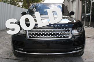 2016 Land Rover Range Rover HSE Houston, Texas