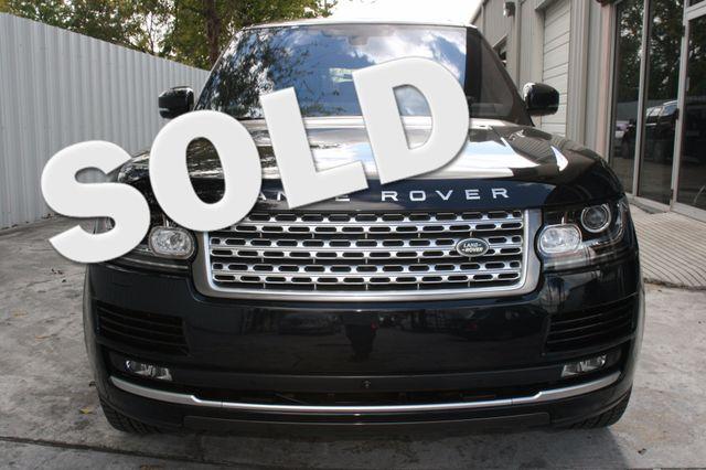 2016 Land Rover Range Rover HSE Houston, Texas 0