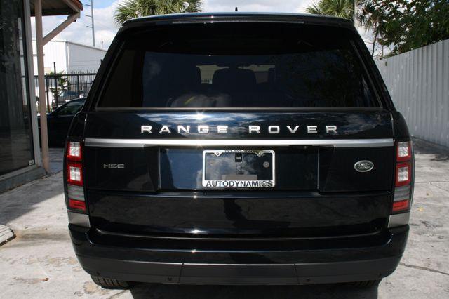 2016 Land Rover Range Rover HSE Houston, Texas 4