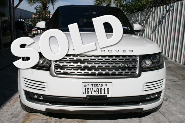 2016 Land Rover Range Rover Supercharged Houston, Texas 0