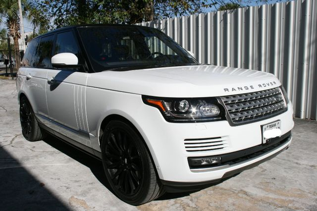 2016 Land Rover Range Rover Supercharged Houston, Texas 1