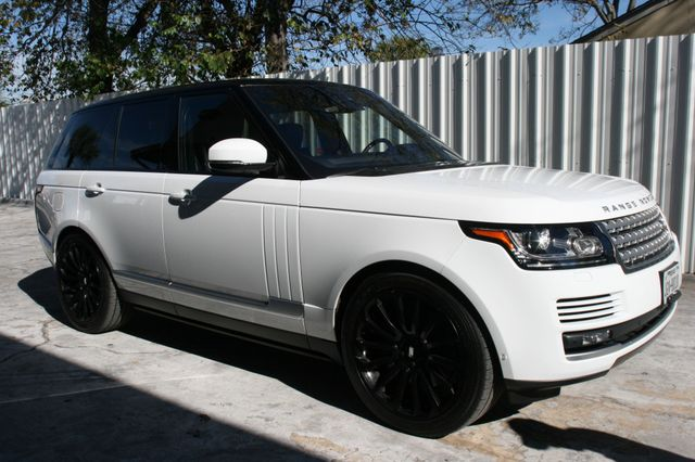 2016 Land Rover Range Rover Supercharged Houston, Texas 3