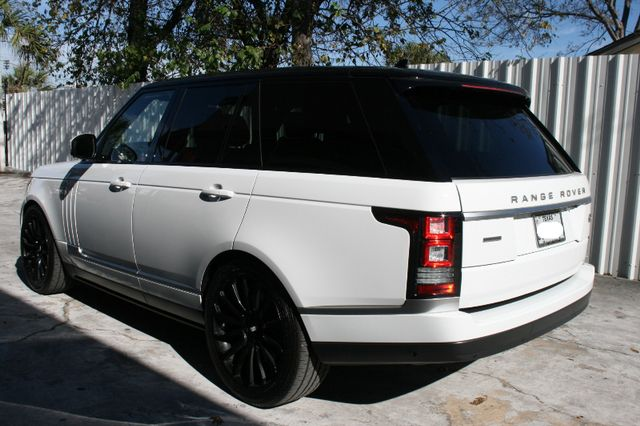 2016 Land Rover Range Rover Supercharged Houston, Texas 6