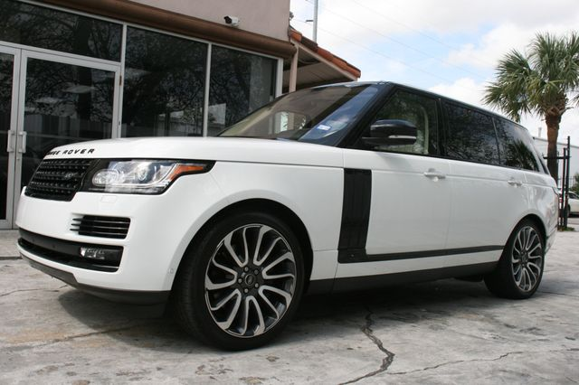 2016 Land Rover Range Rover Autobiography Long Wheel Base Houston, Texas 7
