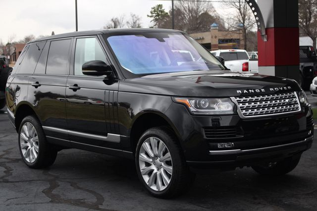 2016 Land Rover Range Rover Supercharged 4WD - DRIVER & VISION ASSIST PKGS! Mooresville , NC 25