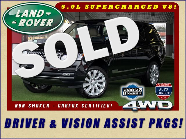 2016 Land Rover Range Rover Supercharged 4WD - DRIVER & VISION ASSIST PKGS! Mooresville , NC 0
