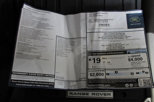 2016 Land Rover Range Rover Sport V6 HSE 4WD - NAV - PANO ROOF - BLIND SPOT! Mooresville , NC 7