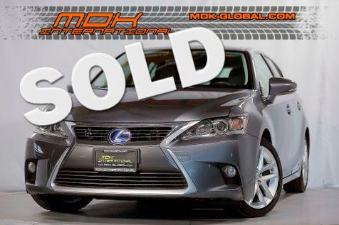 2016 Lexus CT 200h Hybrid - Premium pkg - Only 15K miles in Los Angeles
