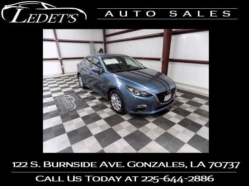 2016 Mazda 3 i Sport - Ledet's Auto Sales Gonzales_state_zip in Gonzales Louisiana