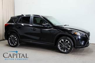 2016 Mazda CX-5 Grand Touring AWD Crossover w/Navigation, Tech Pkg, Heated Seats, Streaming Bluetooth Audio in Eau Claire