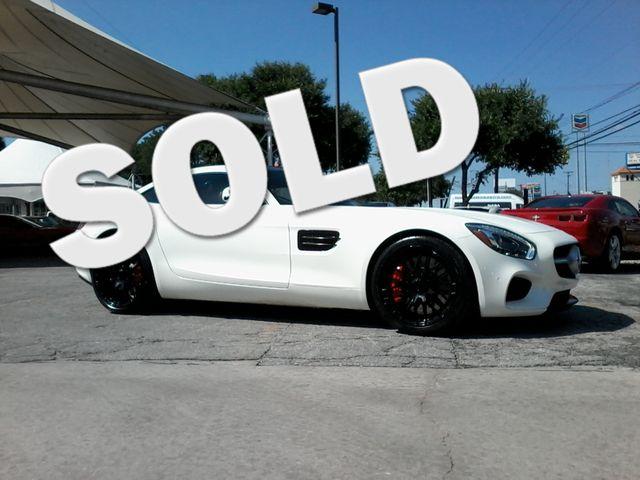 2016 Mercedes-Benz AMG GT S Designo  Diamond White Metallic San Antonio, Texas 0