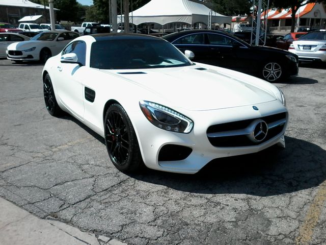 2016 Mercedes-Benz AMG GT S Designo  Diamond White Metallic San Antonio, Texas 2