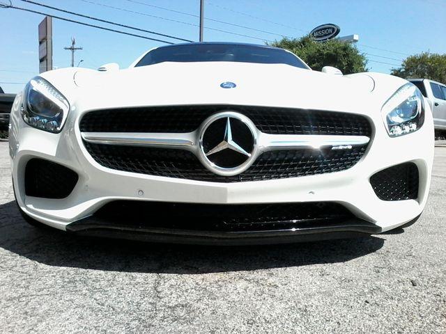 2016 Mercedes-Benz AMG GT S Designo  Diamond White Metallic San Antonio, Texas 13