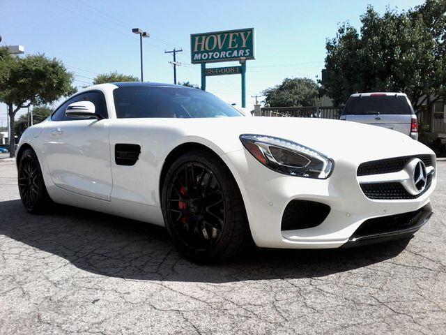 2016 Mercedes-Benz AMG GT S Designo  Diamond White Metallic San Antonio, Texas 14