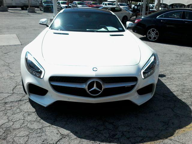 2016 Mercedes-Benz AMG GT S Designo  Diamond White Metallic San Antonio, Texas 3