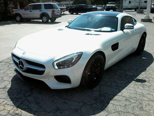 2016 Mercedes-Benz AMG GT S Designo  Diamond White Metallic San Antonio, Texas 4