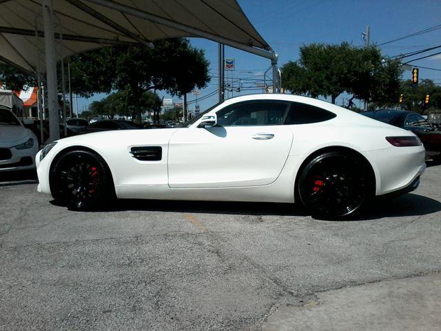 2016 Mercedes-Benz AMG GT S Designo  Diamond White Metallic San Antonio, Texas 11