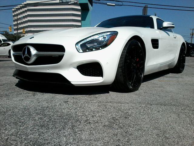2016 Mercedes-Benz AMG GT S Designo  Diamond White Metallic San Antonio, Texas 12