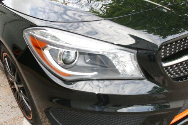 2016 Mercedes-Benz CLA 250 Edition Orange Houston, Texas 20