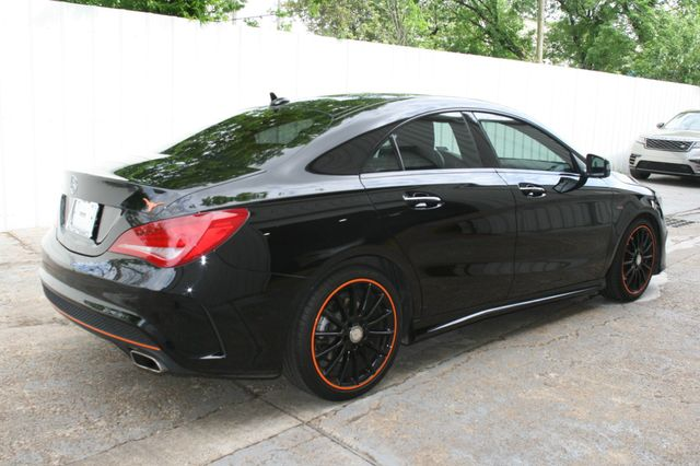 2016 Mercedes-Benz CLA 250 Edition Orange Houston, Texas 3