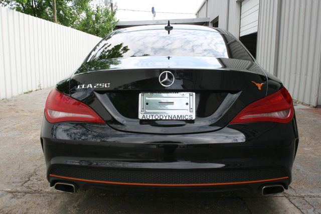 2016 Mercedes-Benz CLA 250 Edition Orange Houston, Texas 4