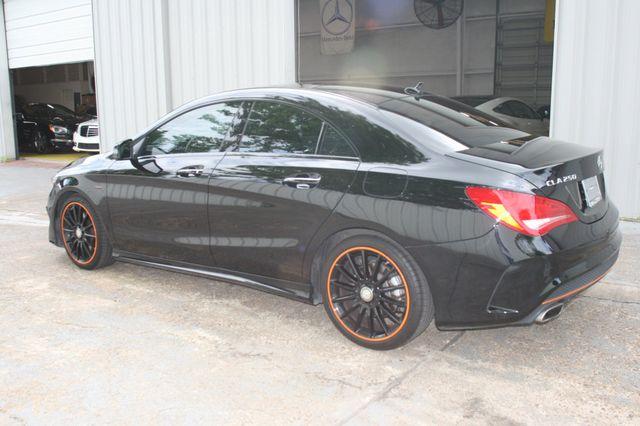 2016 Mercedes-Benz CLA 250 Edition Orange Houston, Texas 6