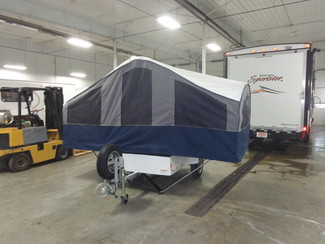 2016 Micro-Lite P'UP Pop Up M/C Trailer Mandan, North Dakota 1