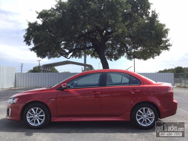 2016 Mitsubishi Lancer ES 2.0L I4  | American Auto Brokers San Antonio, TX in San Antonio Texas