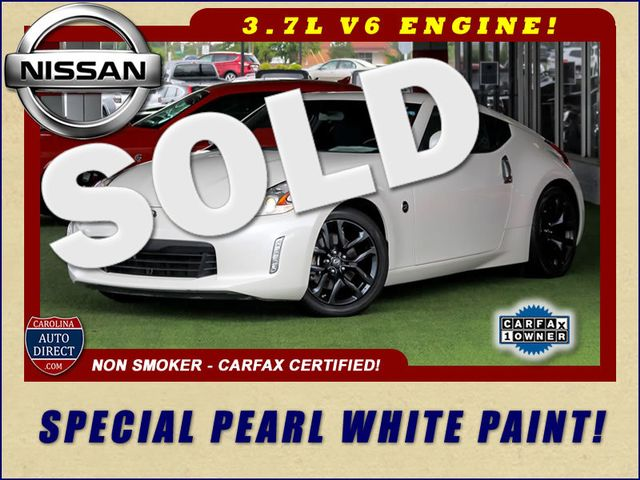 2016 Nissan 370Z RWD - SPECIAL PEARL WHITE PAINT! Mooresville , NC 0