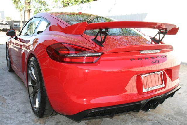 2016 Porsche Cayman GT4 Houston, Texas 5
