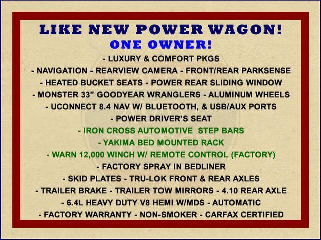 2016 Ram 2500 Power Wagon Crew Cab 4x4 - NAVIGATION! Mooresville , NC 1