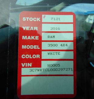 2016 Ram 3500 SLT Nephi, Utah 32