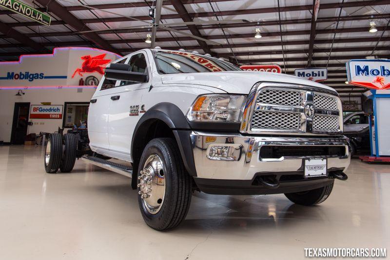 2016 Ram 4500 Tradesman Chassis Crew Cab 4x4  in Addison, Texas