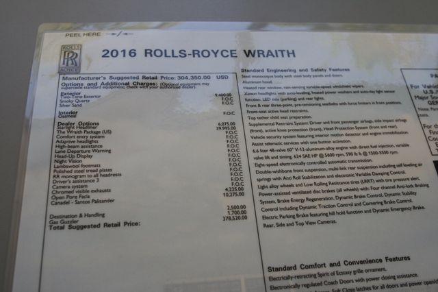 2016 Rolls-Royce Wraith Houston, Texas 44