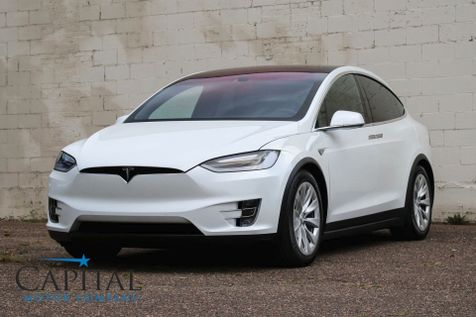 2016 Tesla Model X 90D AWD Electric Luxury SUV w/Auto Pilot, 3rd Row Seats & 17