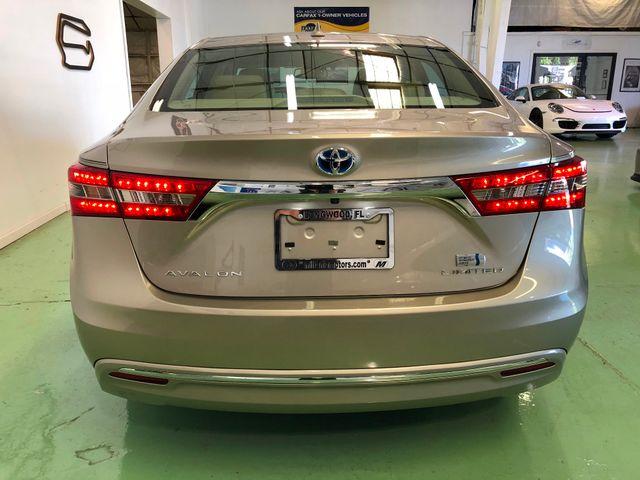 2016 Toyota Avalon Hybrid Limited Longwood, FL 9