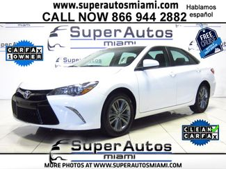 2016 Toyota Camry SE Doral (Miami Area), Florida