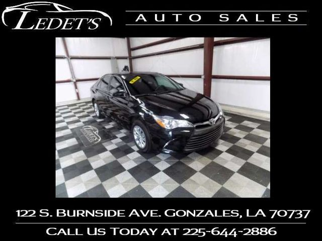 2016 Toyota Camry LE - Ledet's Auto Sales Gonzales_state_zip in Gonzales Louisiana