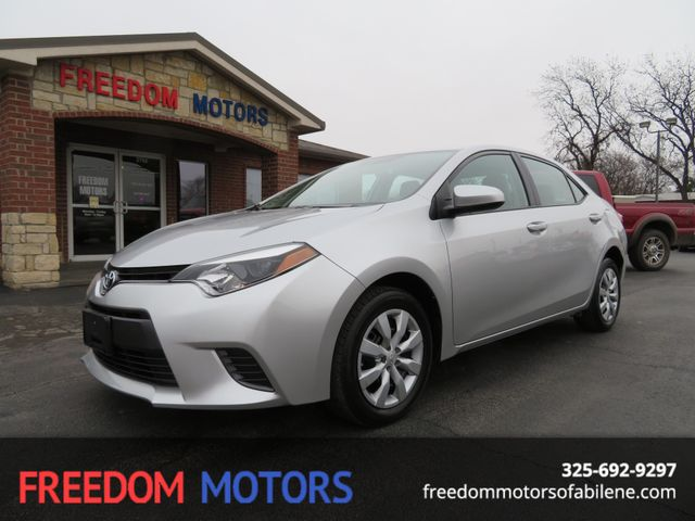 2016 Toyota Corolla LE | Abilene, Texas | Freedom Motors  in Abilene Texas