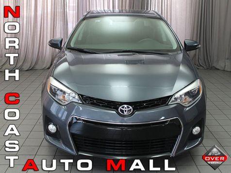 2016 Toyota Corolla 4dr Sedan CVT S Plus in Akron, OH
