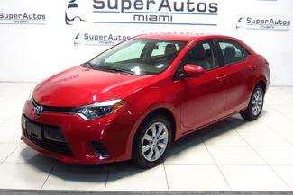 2016 Toyota Corolla LE Doral (Miami Area), Florida 1