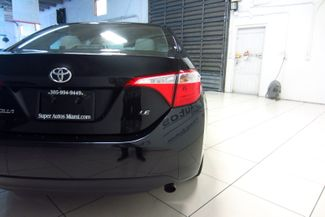 2016 Toyota Corolla LE Doral (Miami Area), Florida 38