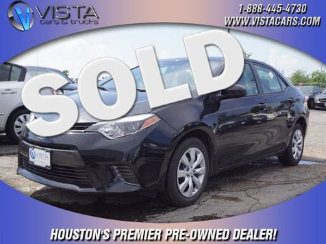 2016 Toyota Corolla LE in Houston, Texas