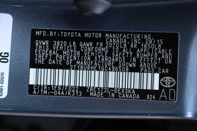 2016 Toyota Corolla S Mooresville, North Carolina 64