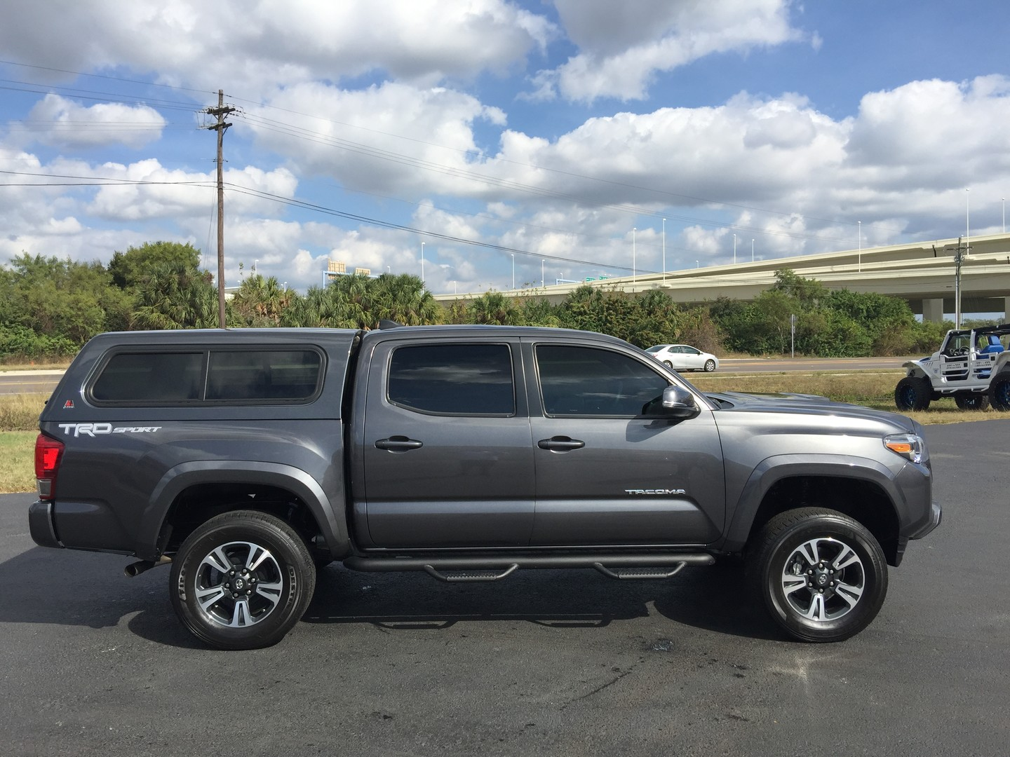 2016 toyota tacoma trd sport nav roof topper florida bayshore automotive. Black Bedroom Furniture Sets. Home Design Ideas