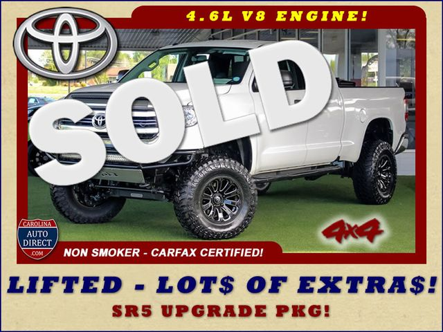 2016 Toyota Tundra SR5 Double Cab 4WD - LIFTED - UPGRADE PKG! Mooresville , NC 0